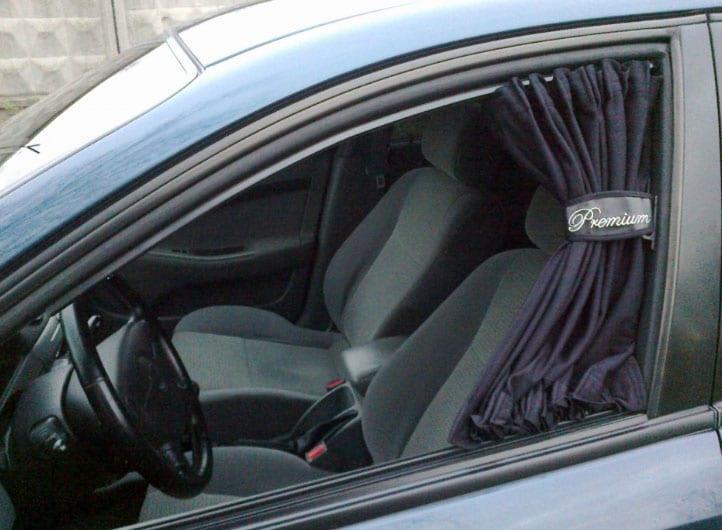 шторки на окна авто