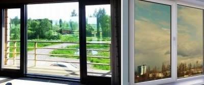 Тонировка окон атермальной пленкой в квартирах и офисах Москвы