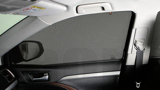 Сетка на окне автомобиля