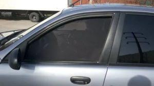 Сетка на окна автомобиля вместо тонировки какой штраф