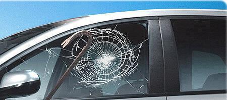 Антивандальное покрытие защищает автостекло от разрушения