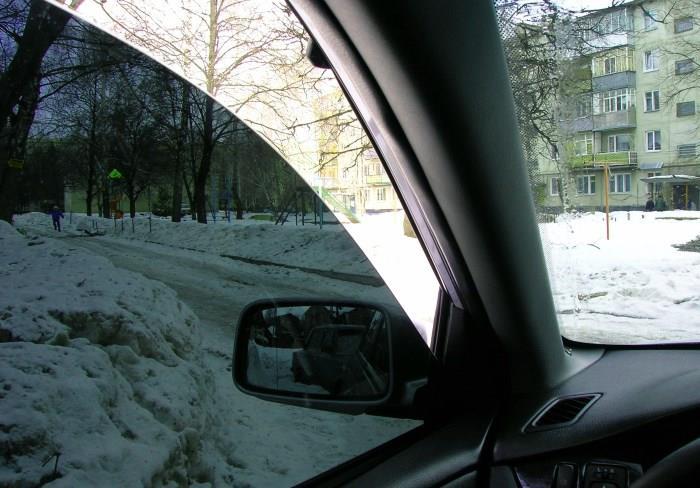 Тонировка автомобильных стекол пленкой LLumar