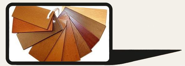 Варианты тонировки деревянных дверей