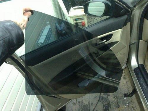 Съемная тонировка стекол автомобиля