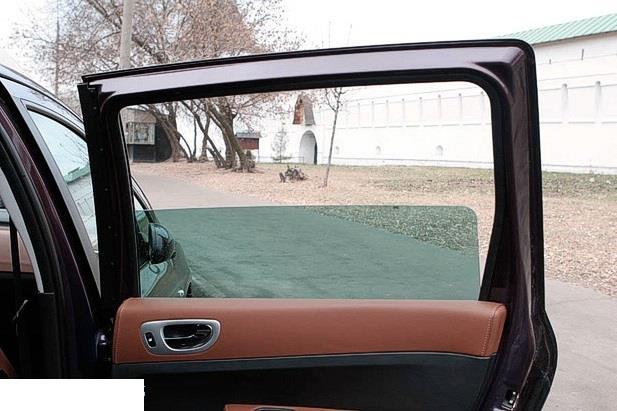 Заводская тонировка стекол автомобиля