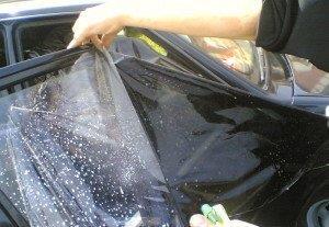 Фото тонировки боковых стекол, k-punkt.com