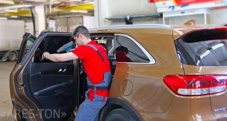Тонирование стекол автомобиля ЮВАО