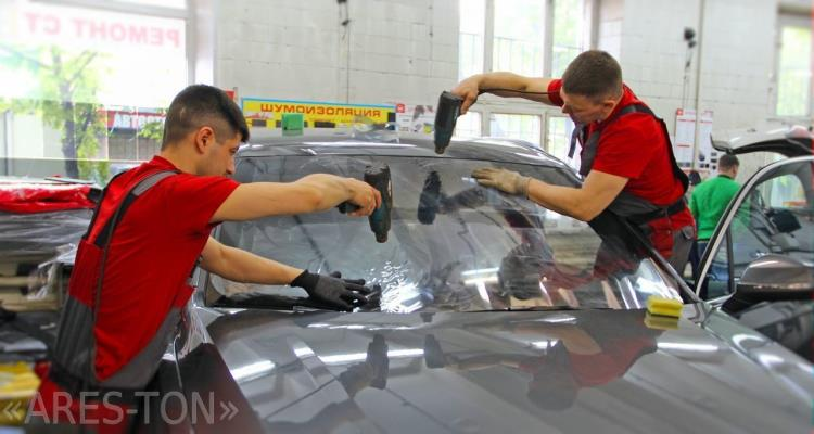 Тонирование стекол автомобиля в ЮВАО