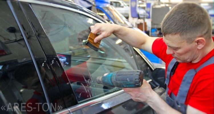 Тонирование стекол автомобиля ЮВАО Ташкентская