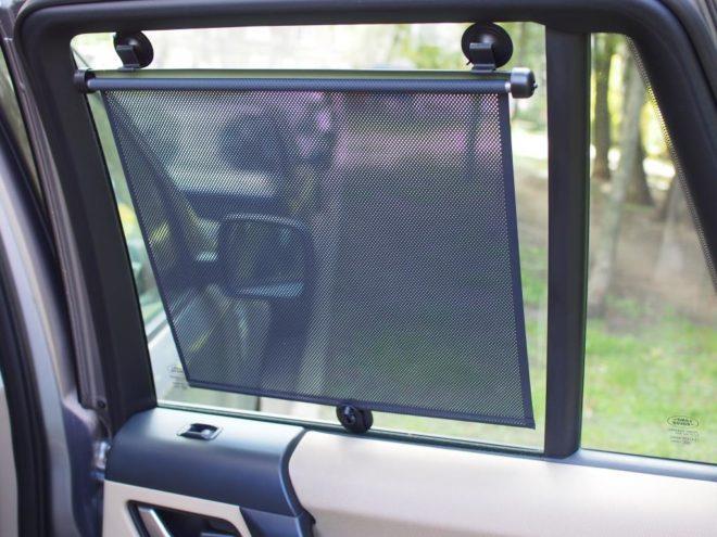 Шторки вместо тонировки крепятся на поверхность стекла при помощи клипс или присосок, что позволяет сократить время монтажа до нескольких минут