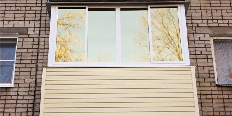Тонирование балкона