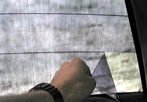 Как затонировать заднее стекло с обогревом? Интересный разбор моментов