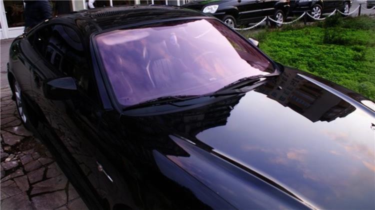 Атермальная пленка с фиолетовым оттенком