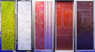 Виды оригинального пленочного покрытия для дверей