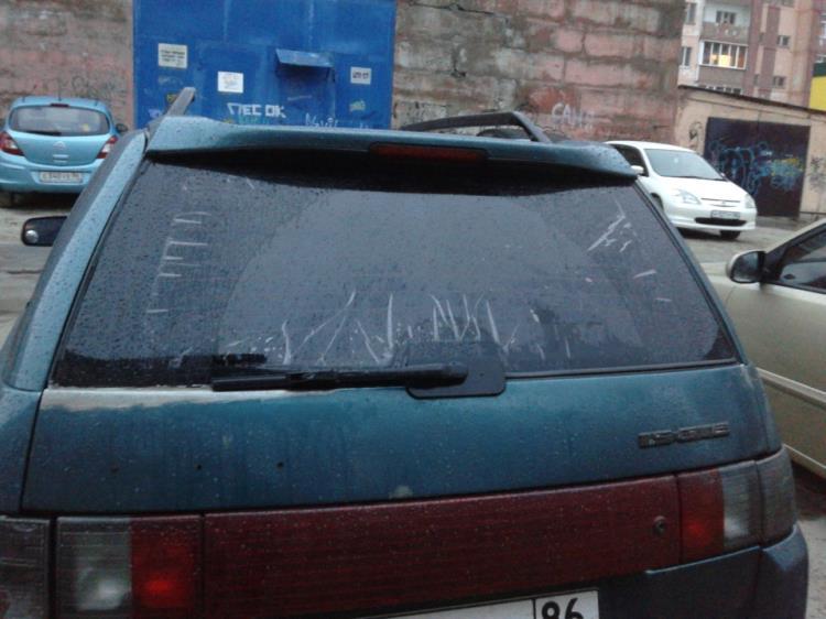 Китайская тонировка заднего стекла автомобиля