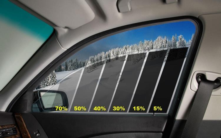 Тонирование окна в процентах