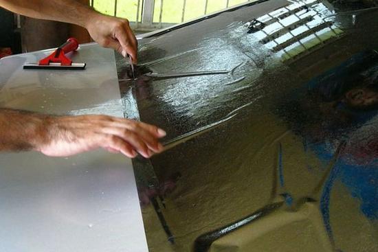 выкройка для заднего стекла