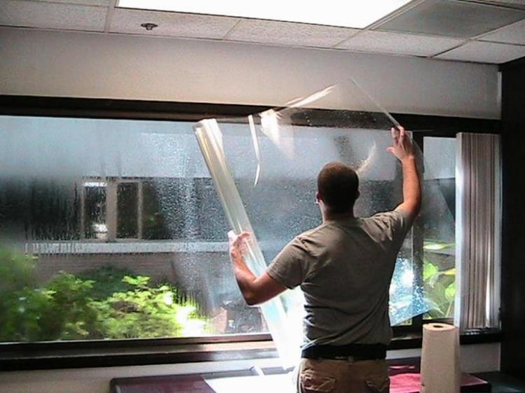 Как затонировать окна